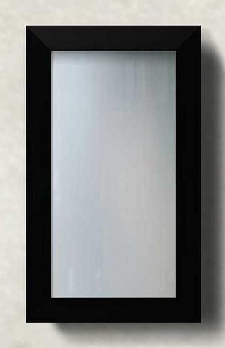 PRINT DECOR | MODERN GEO BLACK FRAMED MIRROR | MIRROR