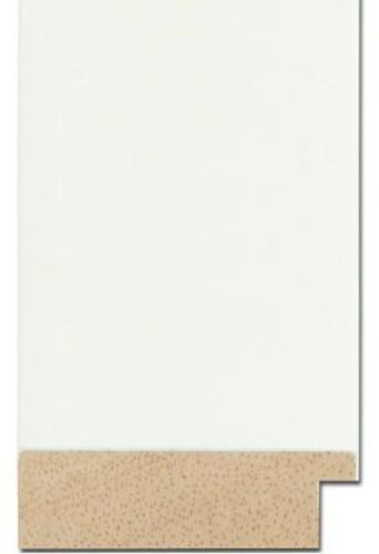 Wide Flat White Frame | Mirrors | Print Decor Malvern
