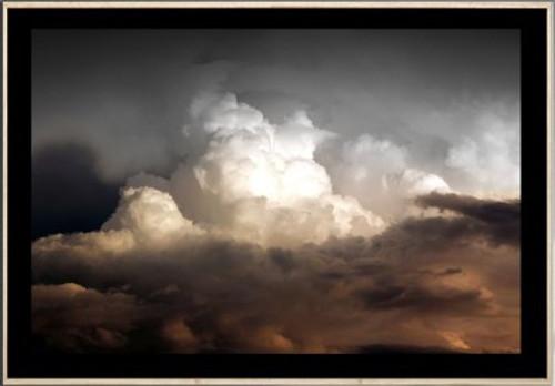 Sienna Clouds   Framed   Print Decor, Malvern