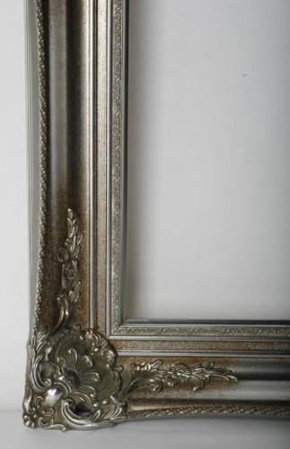 Empty Frame  Antique Victorian Silver