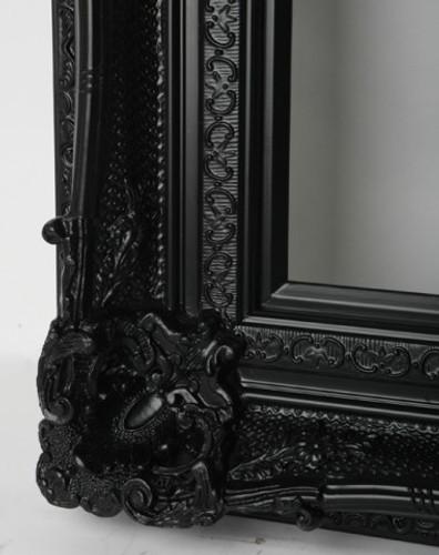 Empty Frame Grand Ornate Black