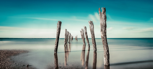 Photography | Silent Calm | Wide Format | by Nick Psomiadis
