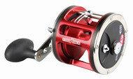 DAM QUICK STEELPOWER RED - HIGH QUALITY SALTWATER TROLLING/OVERCAST REELS - LH