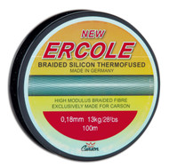 CARSON ERCOLE- 0.30mm-100m - HIGH QUALITY BRAIDED SILICON THERMOFUSED LINE SPOOL