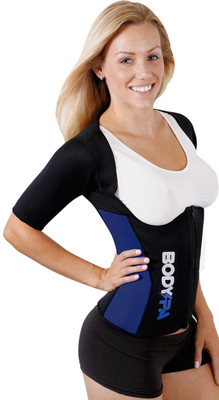 Body Spa Sauna Sweat  Vest Body Shaper with sleeves  Weight Loss wraps