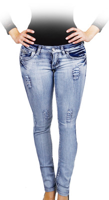 Push Up Winter Jeans - Glacial
