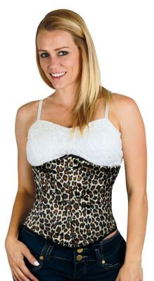 Corset - Leopard Underbust