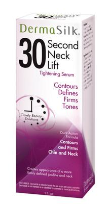 30 SECOND NECK LIFT-DERMASILK