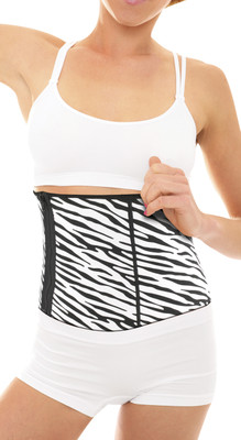SLIMMING BELT-ZEBRA PRINT