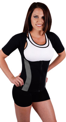Body Spa Sauna Waist trainer with sleeves. Back  Arm and Waist trainer