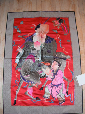 Chinese Tapestry 116x82 cm FL 400/ 220