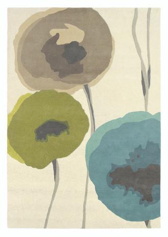 Sanderson Poppies 45701