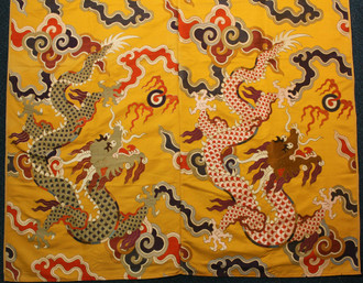 Chinese Silk Tapestry 360 x 151 cm Fq586/11