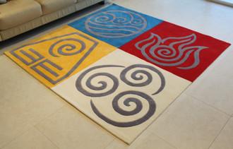 Alba Design Studio Four Elements - 200 x 200cm