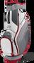 Gunmetal / Grey / White / Red