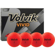 Volvik Vivid Red Golf Balls