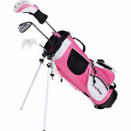 Tour Edge HT Max-J Girl's Junior Golf 2x1 Set Ages 3-5