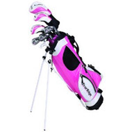 Tour Edge HT Max-J Girl's Junior Golf 5x2 Set Ages 9-12
