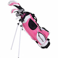 Tour Edge HT Max-J Girl's Junior Golf 4x1 Set Ages 5-8