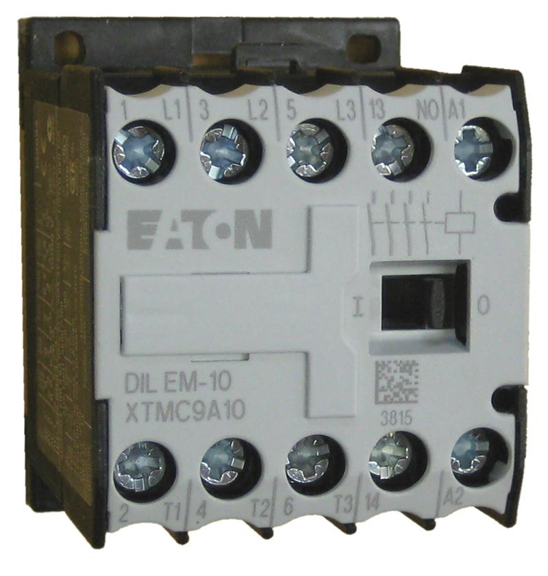 Eaton Xtmc9a10 9 Amp 3 Pole Miniature Contactor With An Ac