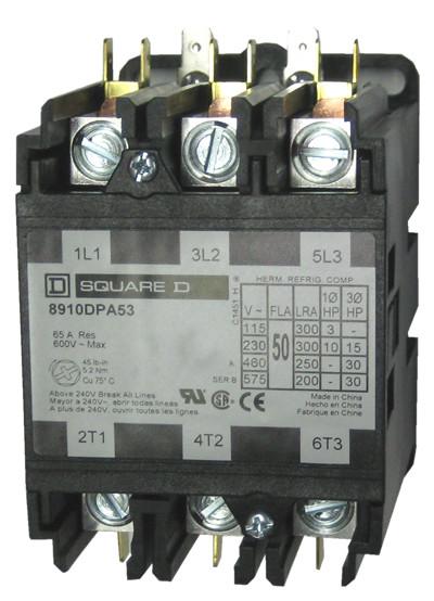 8910DPA53_01.1__75241.1477510141.1280.1280?c=2 square d 8910dpa53 3 pole definite purpose contactor by schneider square d 8910 dpa 43 wiring diagram at suagrazia.org