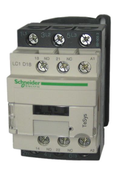 square d telemecanique lc1d18g7 18 amp iec contactor 1 n o image 1