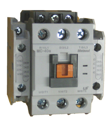 ls mc 40a metasol 3 pole 40 amp contactor with a 24vac coil and 2 rh kentstore com 3 Phase Contactor Wiring Diagram Relay Wiring Diagram