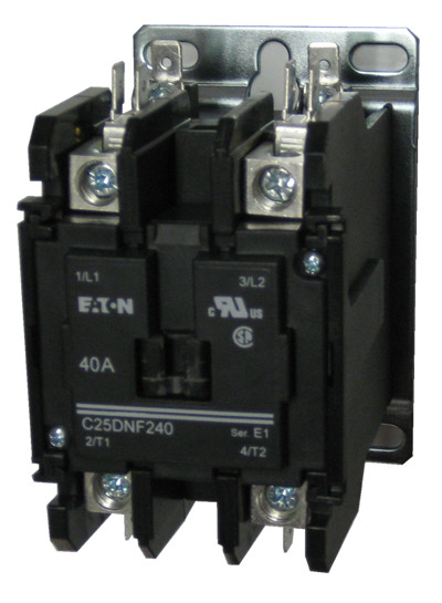 Eaton    Cutler Hammer C25dnf240 2 Pole Contactor Rated At