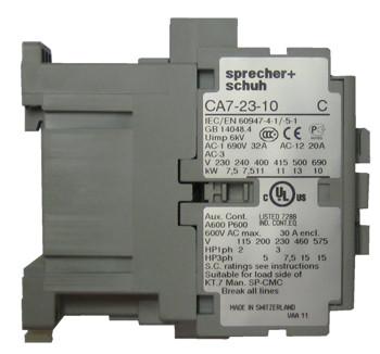 CA723_02.2__84714.1477510141.1280.1280?c=2 sprecher schuh ca7 23 10 24z iec contactor with 1 n o base sprecher schuh ca7 wiring diagram at reclaimingppi.co