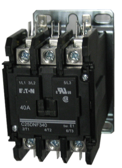 Eaton cutler hammer c dnf a pole contactor rated at