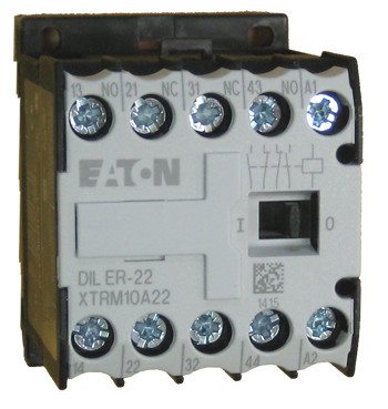 moeller diler 22 control relay, 4 pole with 2 n o and 2 n c  4 pole contactor 2 no 2nc wiring diagram #10