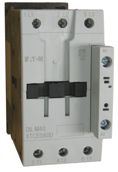 XTCE040D__89685.1477510156.1280.1280?c=2 xtce040d eaton contactor rated at 40 amps with an ac coil eaton dilm25-10 wiring diagram at fashall.co