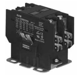 20 amp contactor wiring diagram eaton cutler hammer c25bnb220a 2 pole 20 amp definite