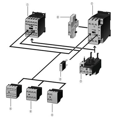dilm12 10 moeller klockner moeller contactor with an ac coil rh kentstore com Klockner Moeller Grinder Pump Control P3 100 Klockner Moeller