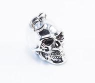Precision Casted Large Skull Pendant
