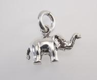 Precision Casted Medium Elephant Pendant