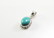Genuine Oval-Shaped Turquoise