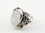 Natural Oval-Shaped Moonstone