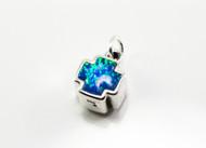 Blue Lab Created Opal