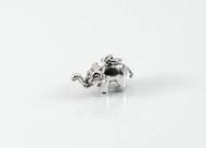 Mini Silver Elephant Charm