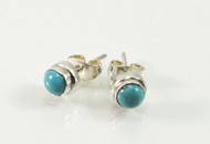 Balinese Turquoise Studs