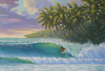 Caribbean Curl [Note Card Set of 6]