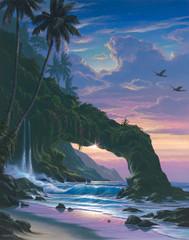 Archway Falls [Original Painting]