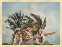 Island Girls [Note Card Set of 6]