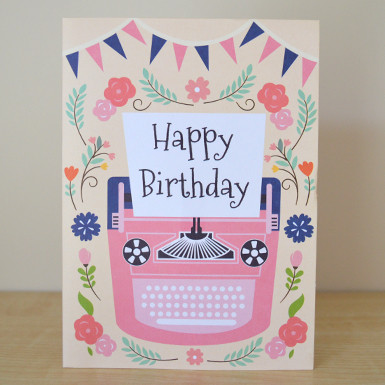 Happy Birthday Greeting Card Image 1