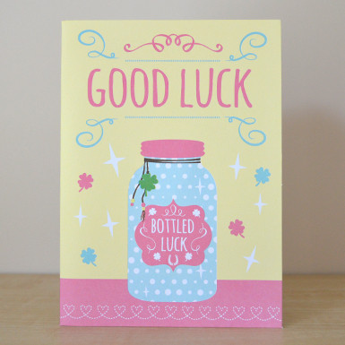 Good luck greeting card the brain tumour charity good luck greeting card image 1 m4hsunfo