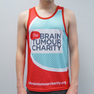Summer Sale 30% off - The Brainy Bunch running vest - male