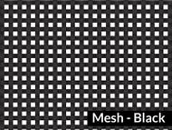 7' X 30' F/S Black Mesh Tarp (20-4257/1801577