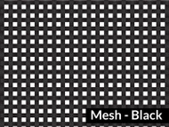 7' X 28' F/S Black Mesh Tarp (20-4258/1801578)