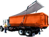 "The New ""Ox"" Tarping System Is A Fully Automatic (Hydraulic) Tarp System Designed To Cover Rolloff Containers Of Any Size. The Ox Design Focuses On Strength, Simplicity And Safety. Specially Designed (And Pre-Assembled) Mounting Brackets Drastically Reduc"